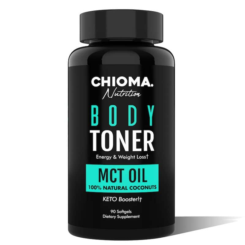 body toner mct oil from organic coconuts
